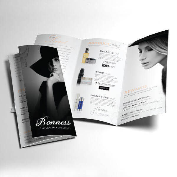 Bonness Skincare Brochure