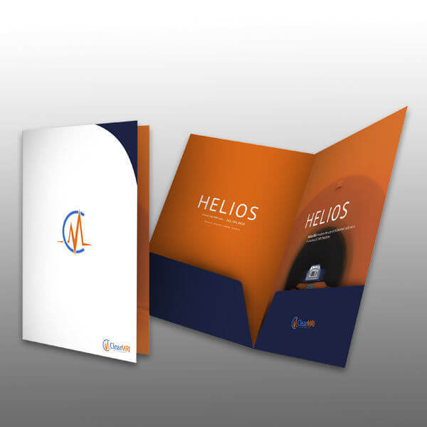 Business Folder Design