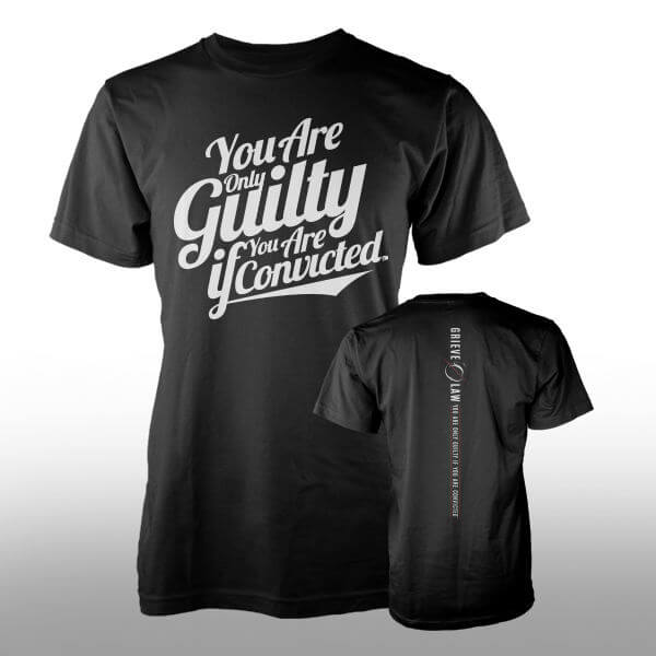 Grieve Law Firm T-Shirt Design - Italic