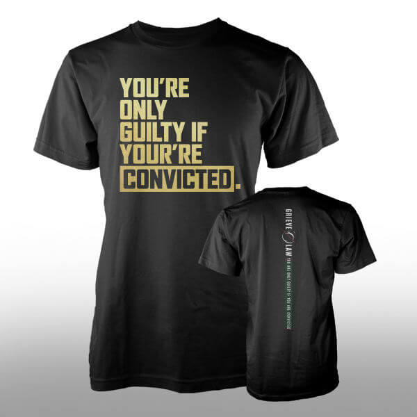 Grieve Law Firm T-Shirt Design