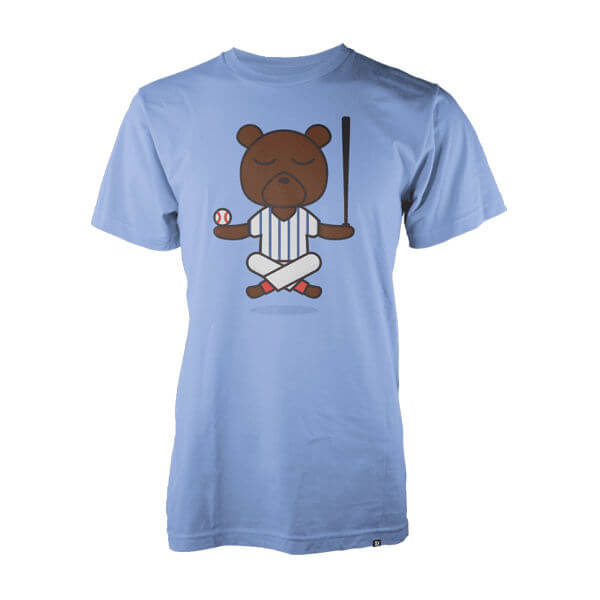 Korked Baseball Yoga Bear Shirt