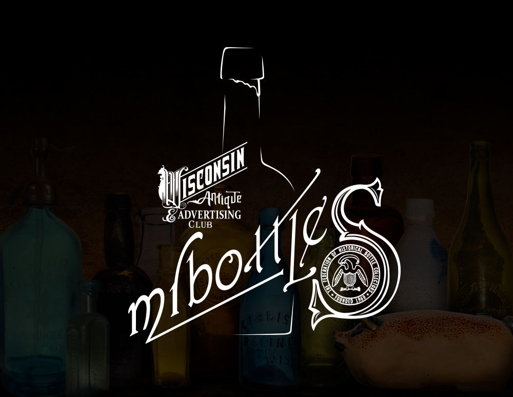Mr. Bottles Logo Design - Wisconsin Antique Advertising Club