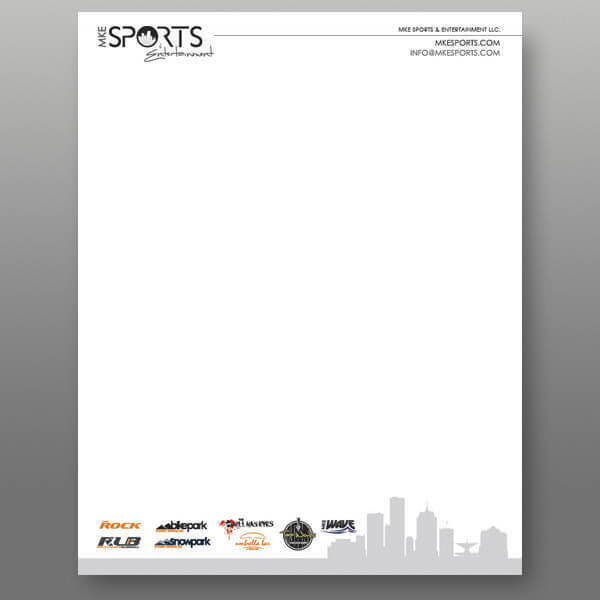 Design Business Letterhead Milwaukee