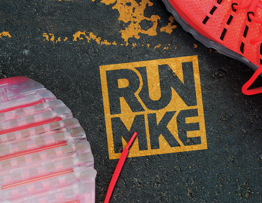Run Milwaukee Alt2 Logo Design
