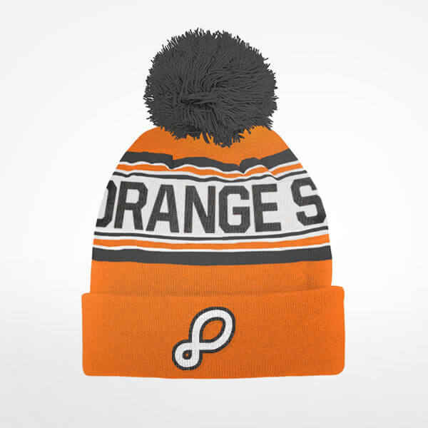Orange Shoe Stocking Cap