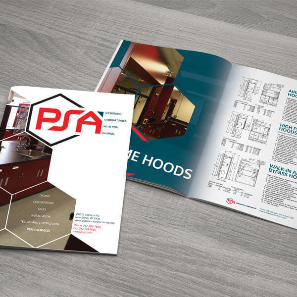 PSA Product Brochure Design