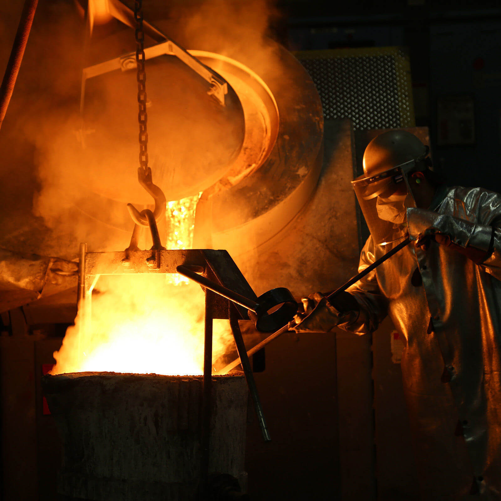 Molten Metal Working