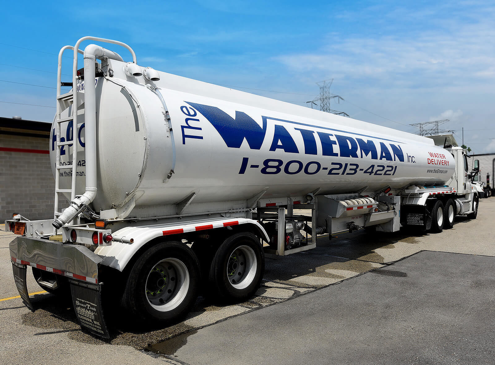 The Waterman truck photography