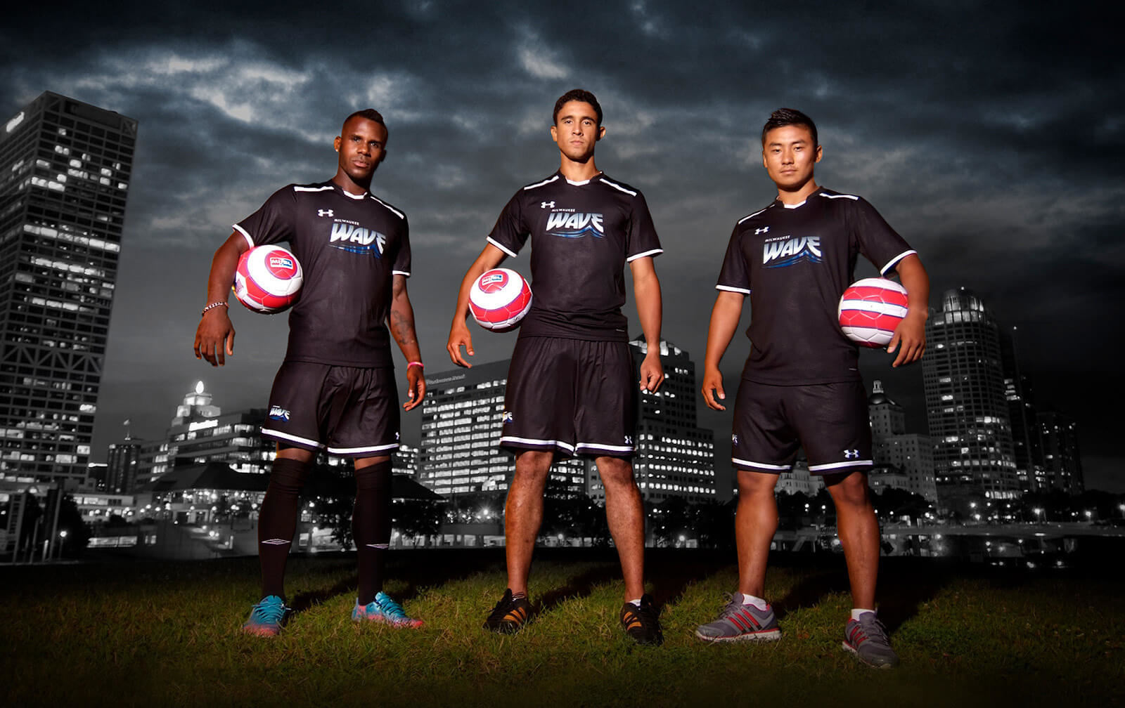 iNET photographs Soccer Players for the Milwaukee Wave