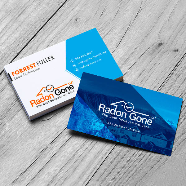 Radon Gone LLC Buisness Card