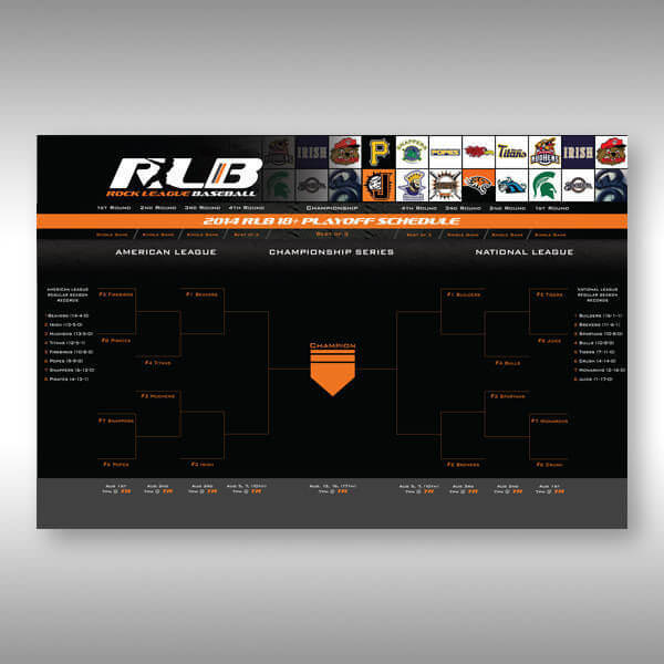 Personalized Sports Bracket Design
