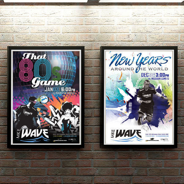 Milwaukee Wave Event Posters