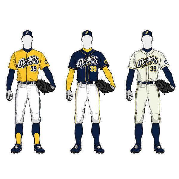 Baseball Team Uniform Designs